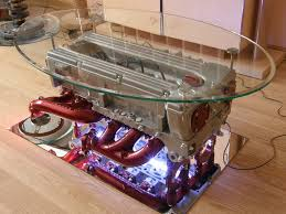How To Make An Engine Block Coffee Table - top gear engine coffee table made from mercedes benz engine tv