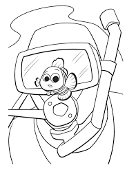 nemo coloring pages coloring pages print