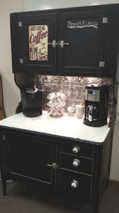 Coffee Bar Cabinet Coffee Hutch By Kelly Knips Coffee Tea Food And Drink Bars