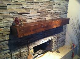 Fireplace Brick Stain by Beautiful Distressed Knotty Alder Fireplace Mantel Finished In
