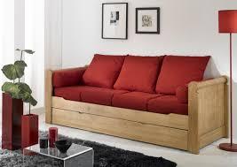 lit canapé gigogne acheter votre banquette lit gigogne couchage en 80x190 chez simeuble