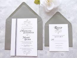 black tie wedding invitations formal black tie wedding manhattan formal black tie wedding