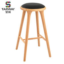 European High Chair by High Foot Stool Starwise Wood European Creative Bar Chair Stool