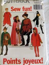 butterick halloween costumes butterick 5673 sewing pattern robin hood costume halloween devil