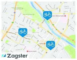 Cherry Blossom Map Macon Bike Share Tours In Macon Ga