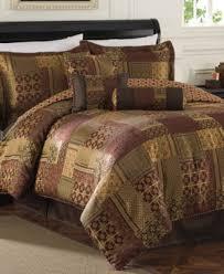 Jacquard Bed Set Medici 7 King Jacquard Comforter Set Bed In A Bag Bed