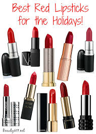 best red lipsticks for the holidays
