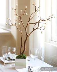 tree branches for centerpieces diy paper wedding centerpiece the elli
