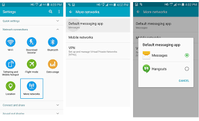 sms app for android how to change the default sms app on android