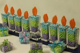 hanukkah candy hanukkah candy menorah centerpieces hanukkah and candy centerpieces