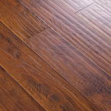 6 38 handscraped click lock hickory mocha laminate flooring for