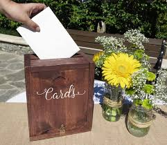 wedding gift keepsake box rustic wedding card box wedding card holder wedding card mailbox