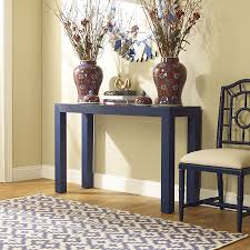 Blue Console Table Parsons Blue Console Table Bungalow 5 Collectic Home