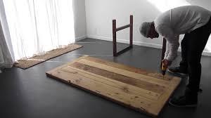 U Shaped Table Legs Table Legs Instrustions Youtube