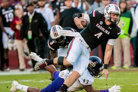 bentley college football south carolina u0027s jake bentley is the sec u0027s best freshman