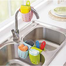 Draining Sponge Caddy Scratcher Holde End   PM - Cleaning kitchen sink