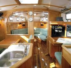 Beautiful And Comfortable Boat Interior Designs To Make Your Mouth - Boat interior design ideas