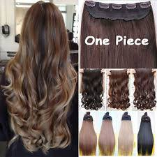 one clip in hair extensions one human hair extensions ebay