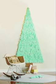 10 unusual christmas trees part 2 tinyme blog fun and festive paper garland christmas wall tree 10 unusual christmas trees part 2