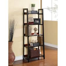 5 Shelf Ladder Bookcase by Bedeck Your Bookcases Hayneedle Blog