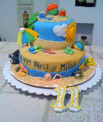 summer beach cake cakecentral com