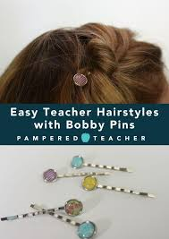 decorative bobby pins bobby pin hairstyles pered