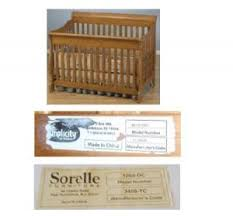 Crib Mattress Support Frame Albee Baby Recalls C T International Sorelle Brand Prescott