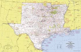 map us south up usa south central states map