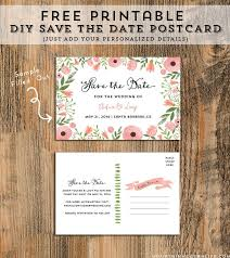 postcard save the dates free save the date templates