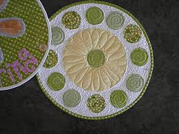 quilted placemats for round tables simple spring table runner or place mats moda bake shop