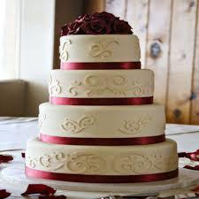 burgundy colour scheme wedding flair