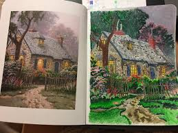 Thomas Kinkade Home Interiors 27 Best T Kinkade Images On Pinterest Thomas Kinkade Coloring