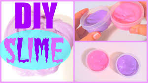 diy slime without borax or liquid starch youtube