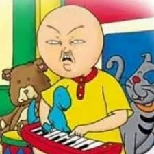 caillou head datsavage25 twitter
