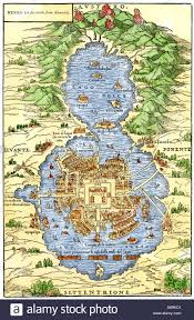 aztec map of mexico tenochtitlan capital city of aztec mexico an island connected by