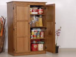 oak kitchen pantry cabinet home and interior