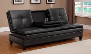 Faux Leather Futon Futons Kmart Roselawnlutheran