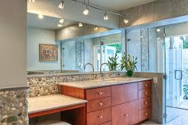 track lighting bathroom vanity bathroom decoration