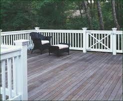 jamestown deck railing with gate