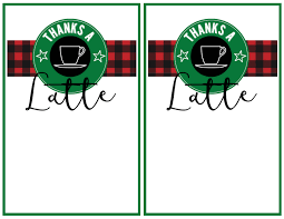 starbucks christmas gift cards easy teacher christmas gift idea starbucks gift card paper