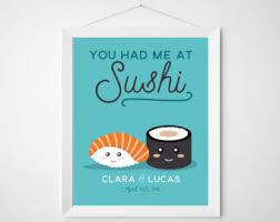wedding quotes japanese sushi quotes etsy