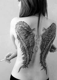 small wings back design idea for and