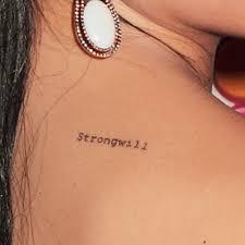 jenna ushkowitz u0027strongwill u0027 upper back tattoo steal her style
