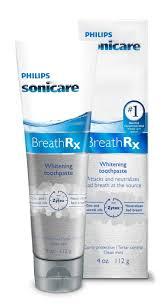 toothpaste whitening amazon com philips sonicare breathrx whitening toothpaste 4oz beauty