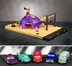 disney pixar cars the toys forums high end precision series die cast cars characters play sets