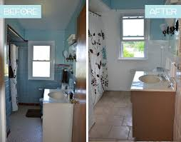 How To Transform An Ugly Bathroom With DIY Tile Painting - Best type of paint for bathroom