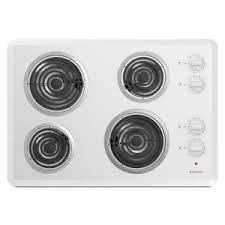 Best Rated Electric Cooktop Ge 30 In Coil Electric Cooktop In Stainless Steel With 4 Elements