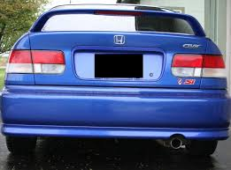 2000 honda civic spoiler 2000 civic si factory lip kit honda tech honda forum discussion