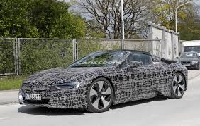 bmw i8 roadster could debut in los angeles