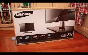 Led Tv Box Design Unboxed Samsung 32